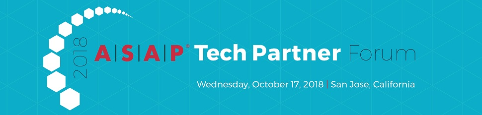 The 2018 ASAP Tech Partner Forum in San Jose, California